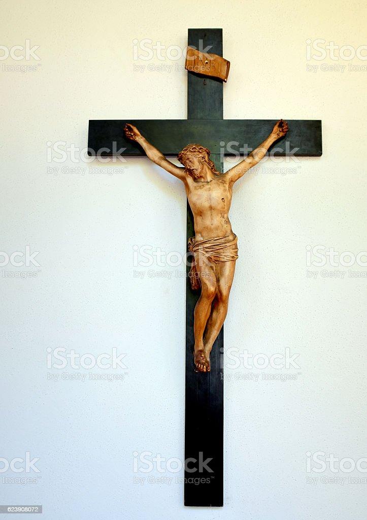 Crucifixion. stock photo