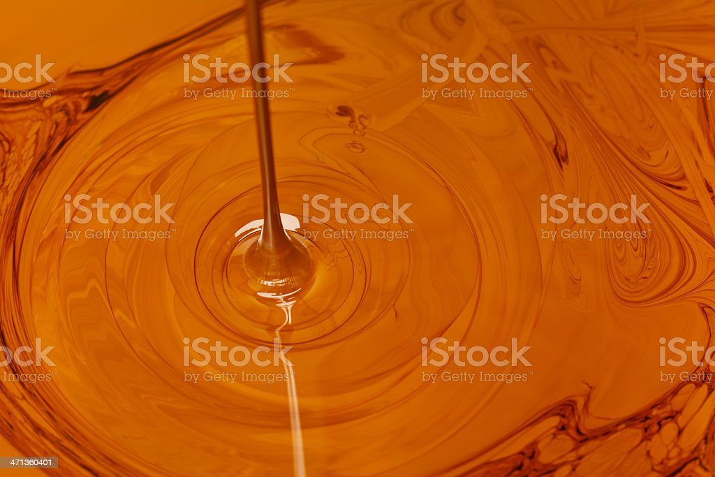 Crude Oil Dripping royalty-free stock photo