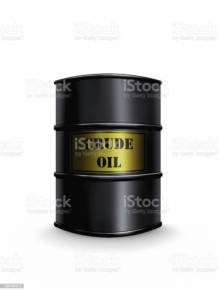 crude oil royalty-free stock photo