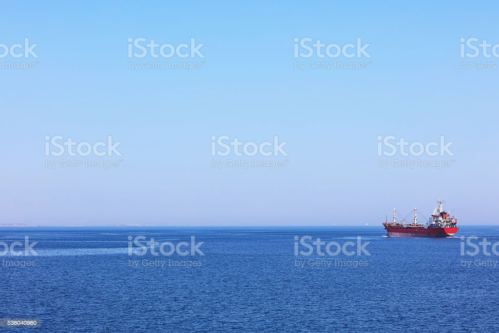 Crude Oil Tanker stock photo