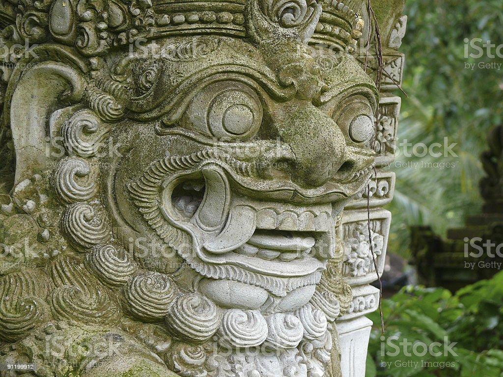 cruel temple statue royalty-free stock photo