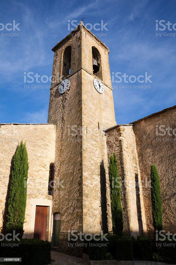 Cruis, Provence, France stock photo