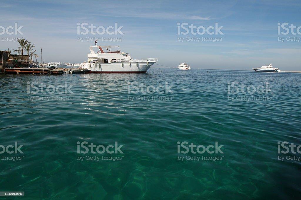Cruise boat royalty-free stock photo