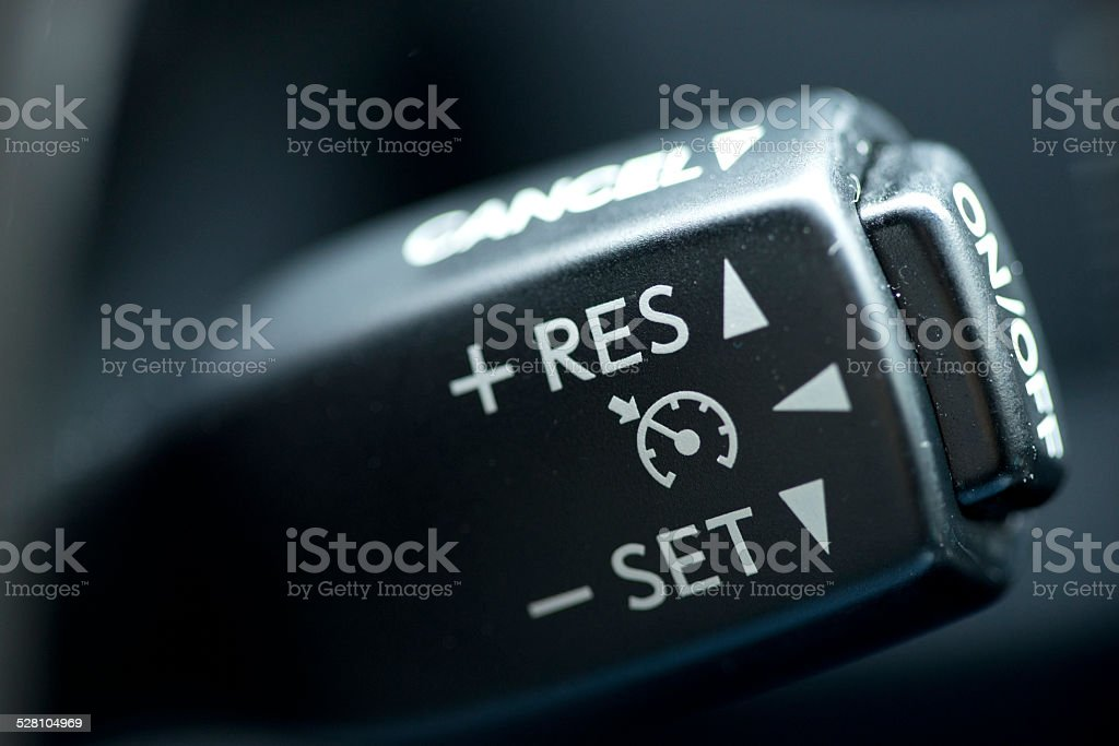 Cruise control stock photo