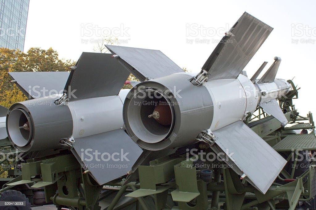 cruise missiles stock photo