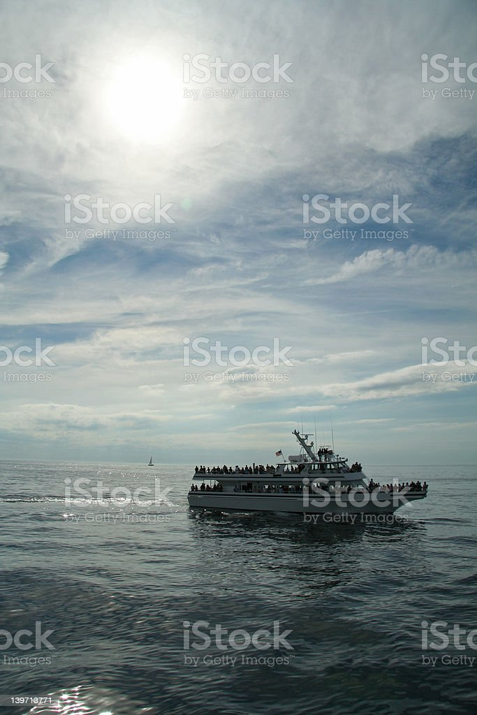 Cruise Party Boat royalty-free stock photo