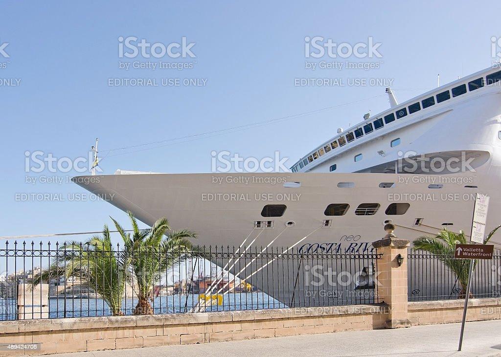 Cruise ship Neo Costa Riviera stock photo