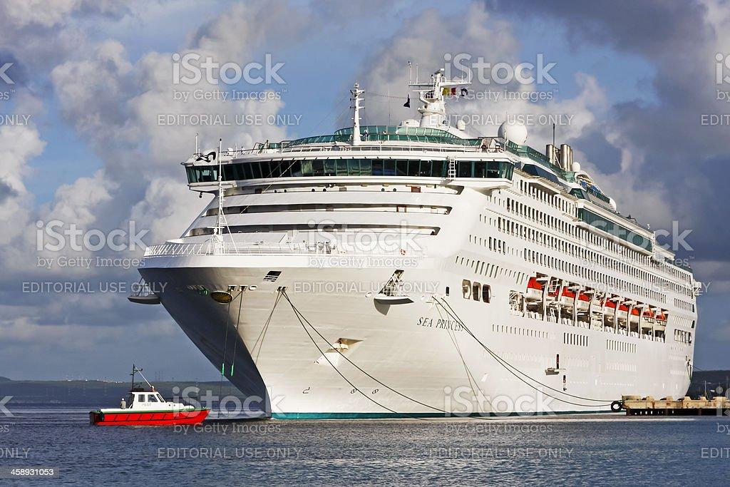 Cruise ship # 1 stock photo