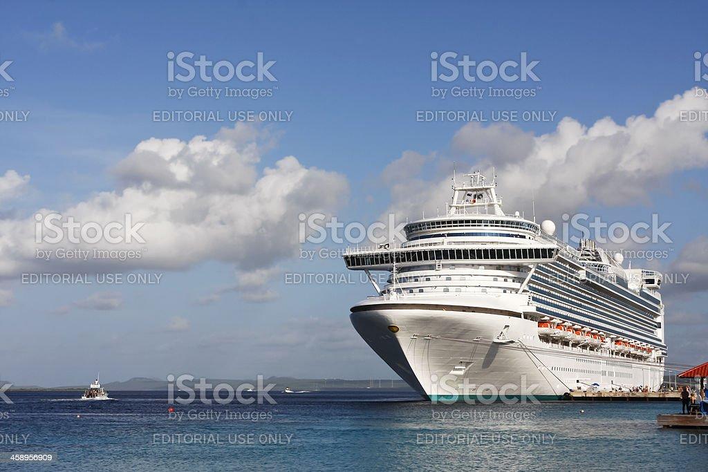 Cruise ship # 5 royalty-free stock photo