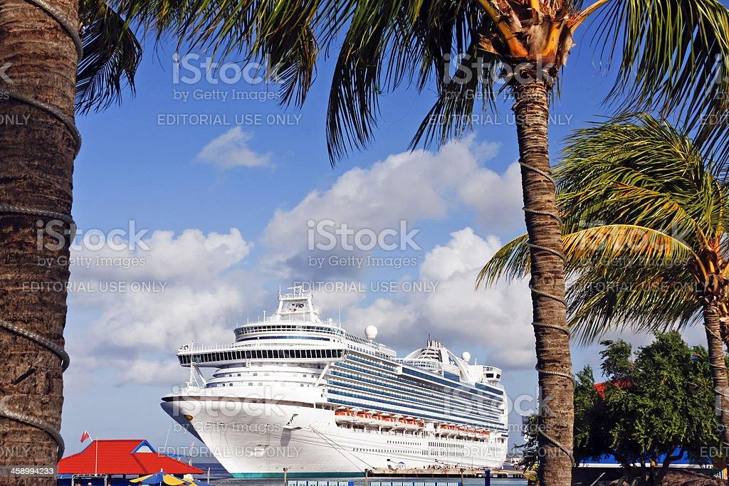 Cruise ship # 8 stock photo
