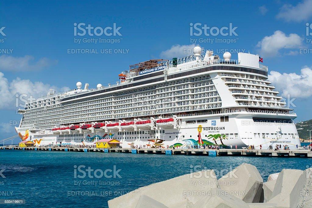 Barco crucero foto de stock libre de derechos