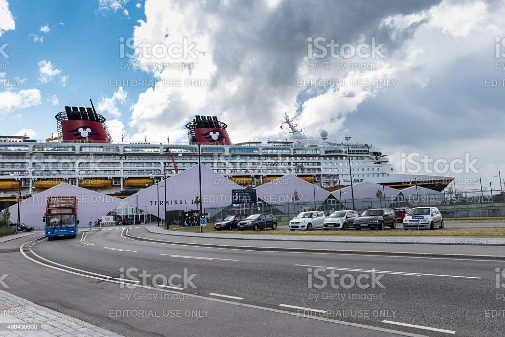 Cruise Ship Terminal stock photo