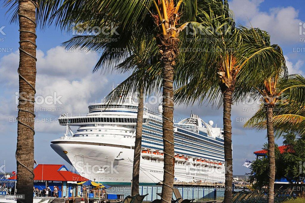 Cruise ship # 8 XL stock photo