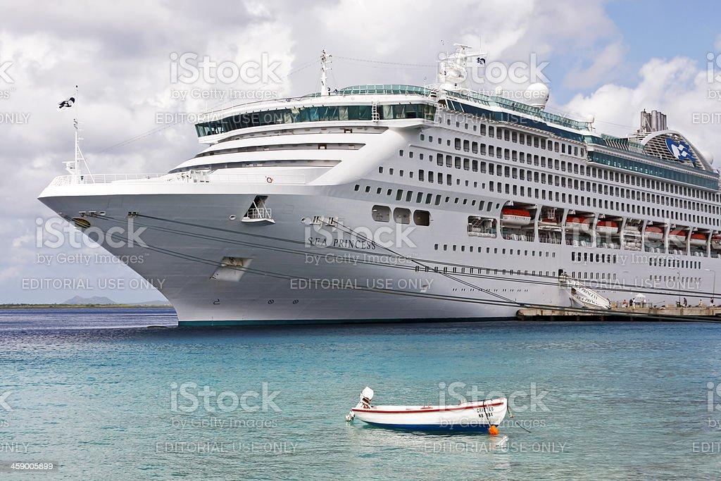 Cruise ship # 4 XL stock photo