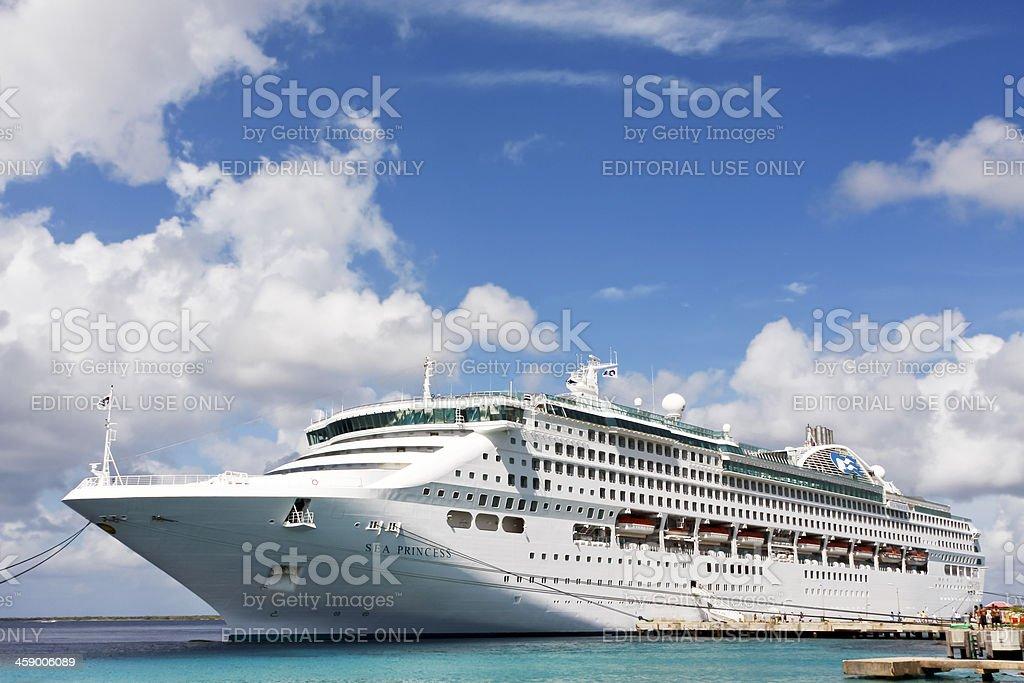 Cruise ship # 2 XL stock photo