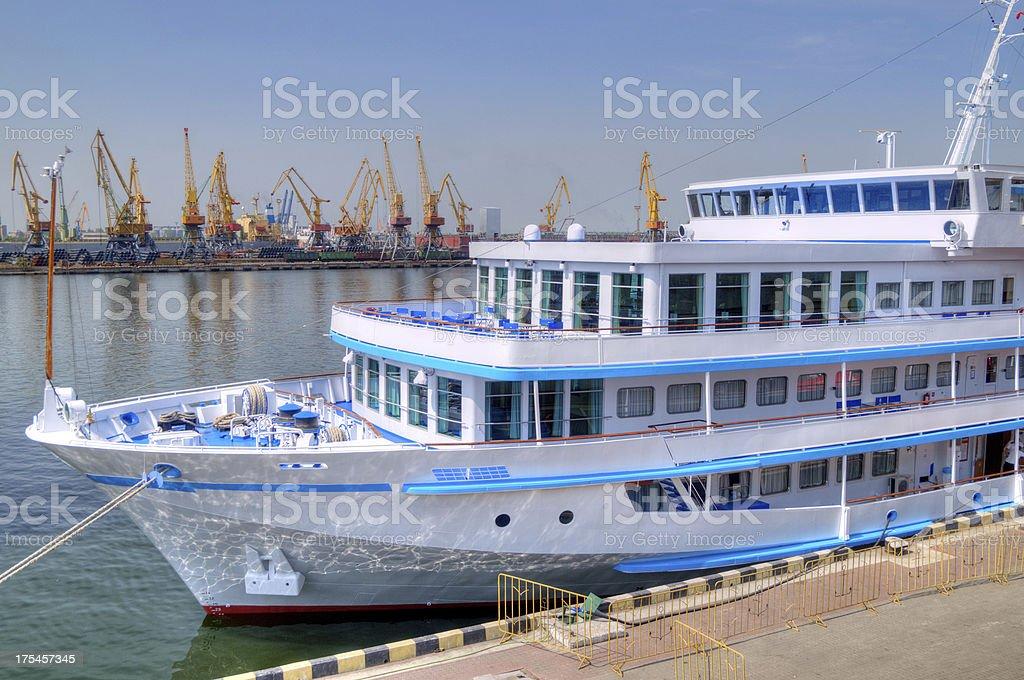 Cruise travel ship royalty-free stock photo