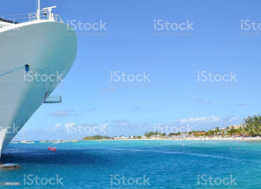Cruise vacation royalty-free stock photo
