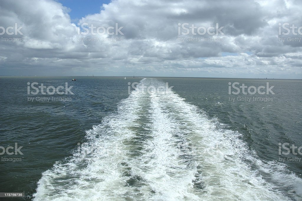Cruise vacation royalty-free stock photo