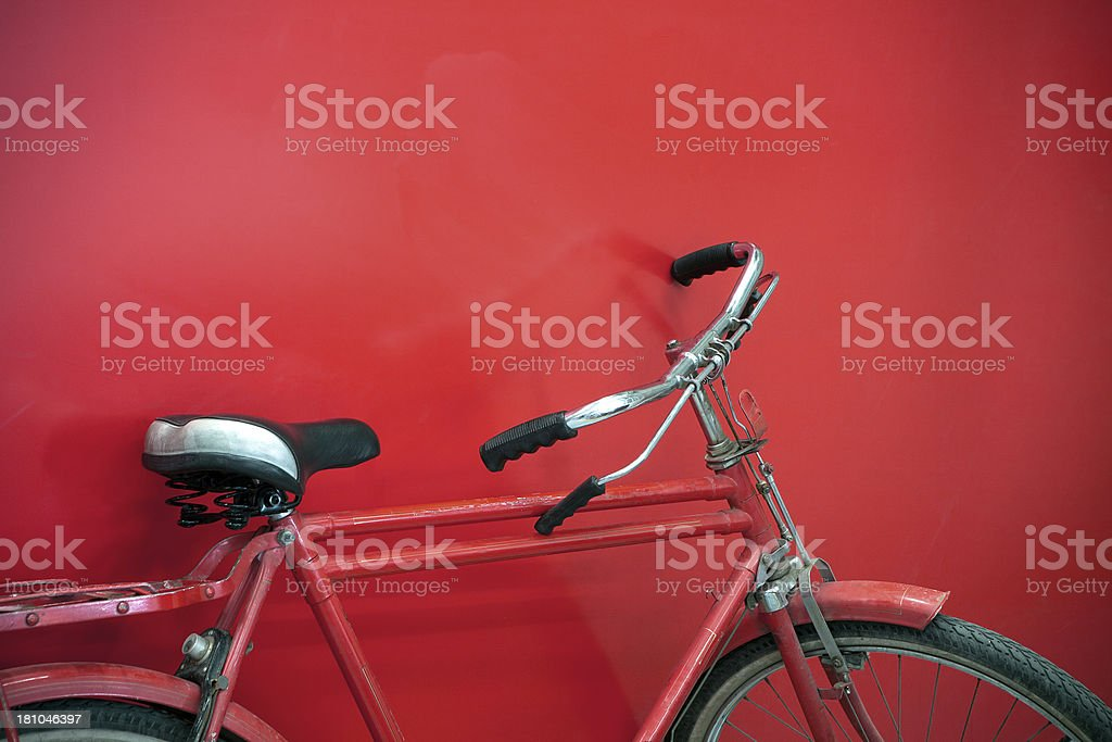 Cruiser Bicycle royalty-free stock photo