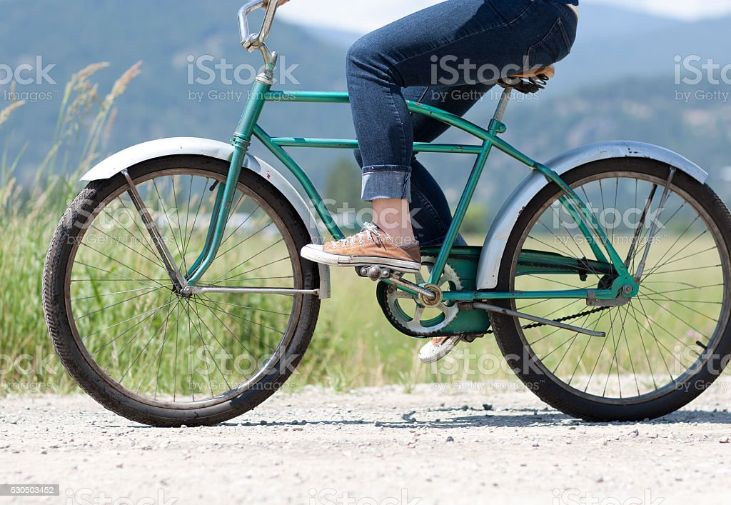Cruiser Bicycle stock photo
