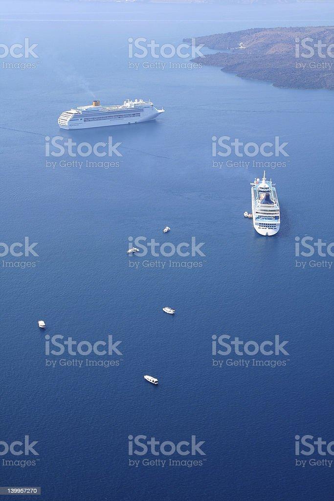 Cruises royalty-free stock photo