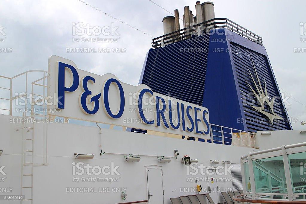 P&O Cruises stock photo