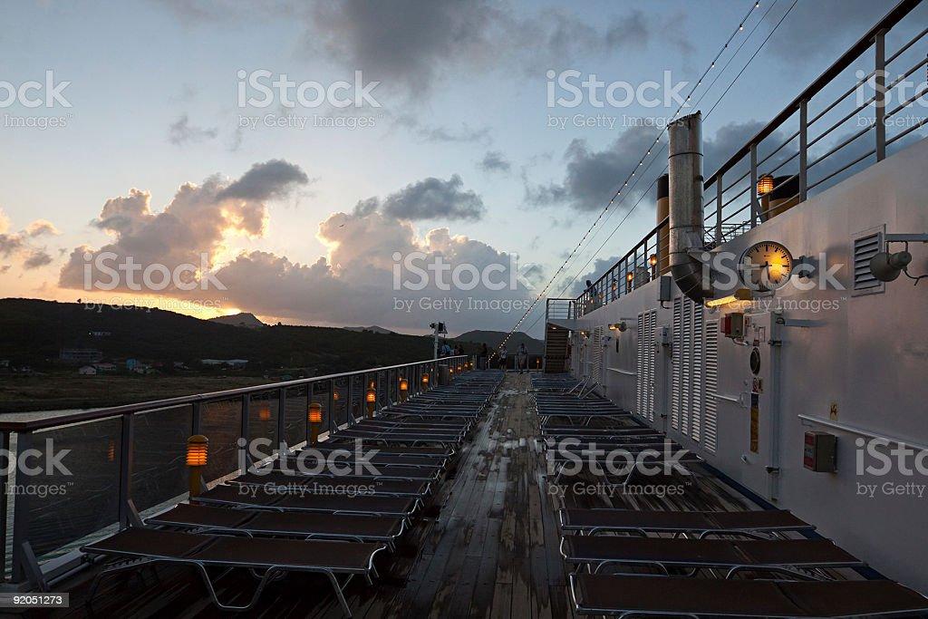 Cruise-Ship royalty-free stock photo