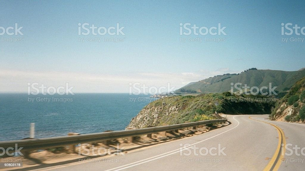 Cruisin the Pacific Hwy. royalty-free stock photo