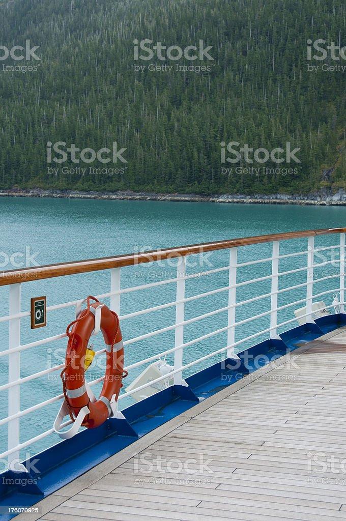 Cruising Alaskan Waters stock photo