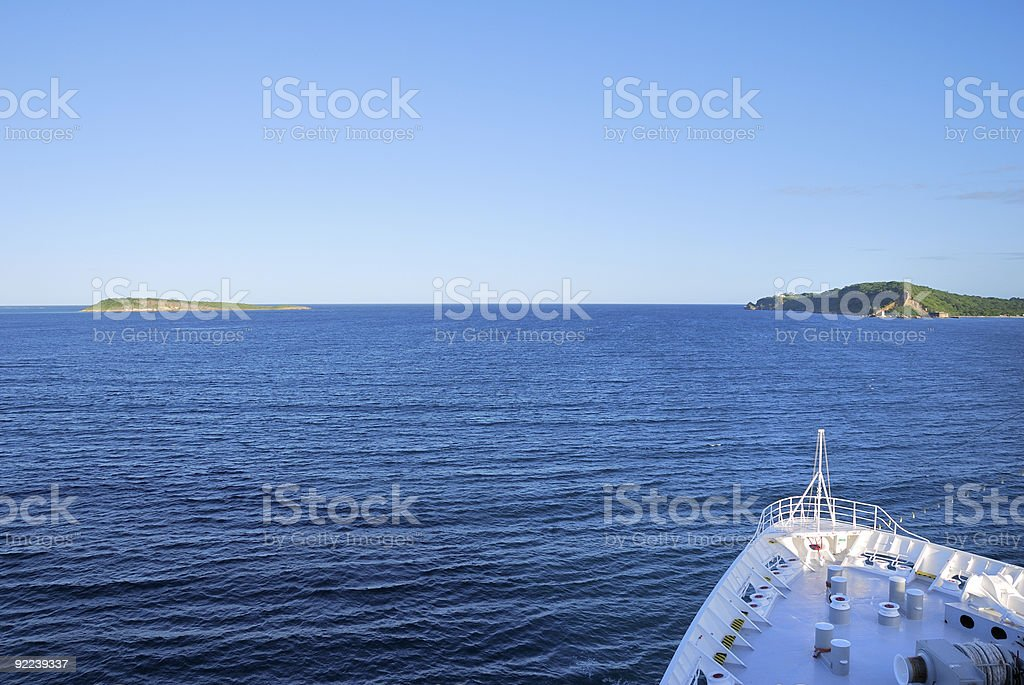 Cruising around Madagascar stock photo