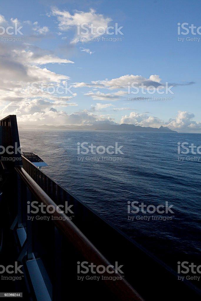 Cruising Oceans royalty-free stock photo
