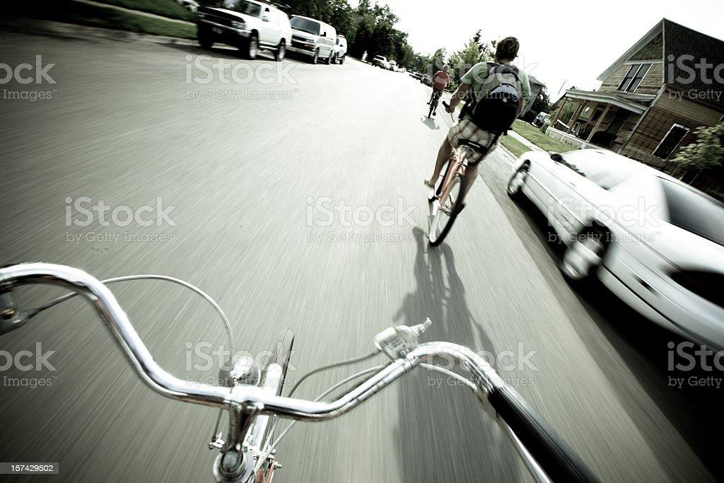 Cruising stock photo