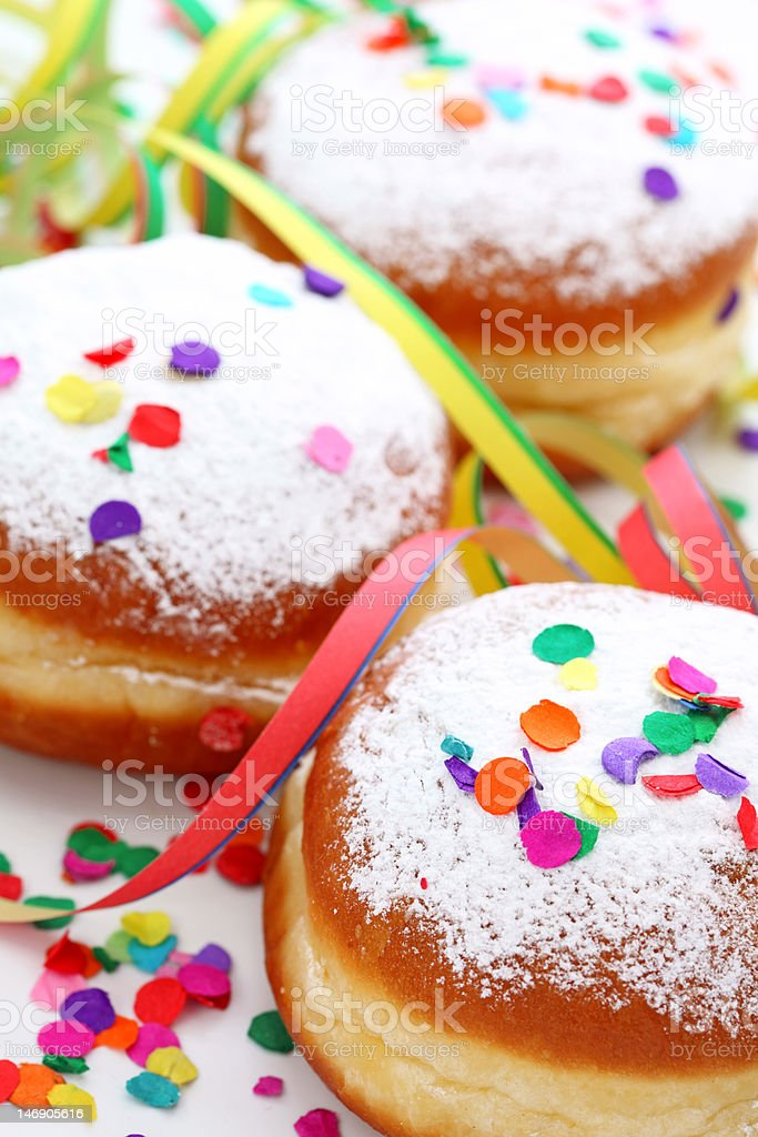 Krapfen royalty-free stock photo