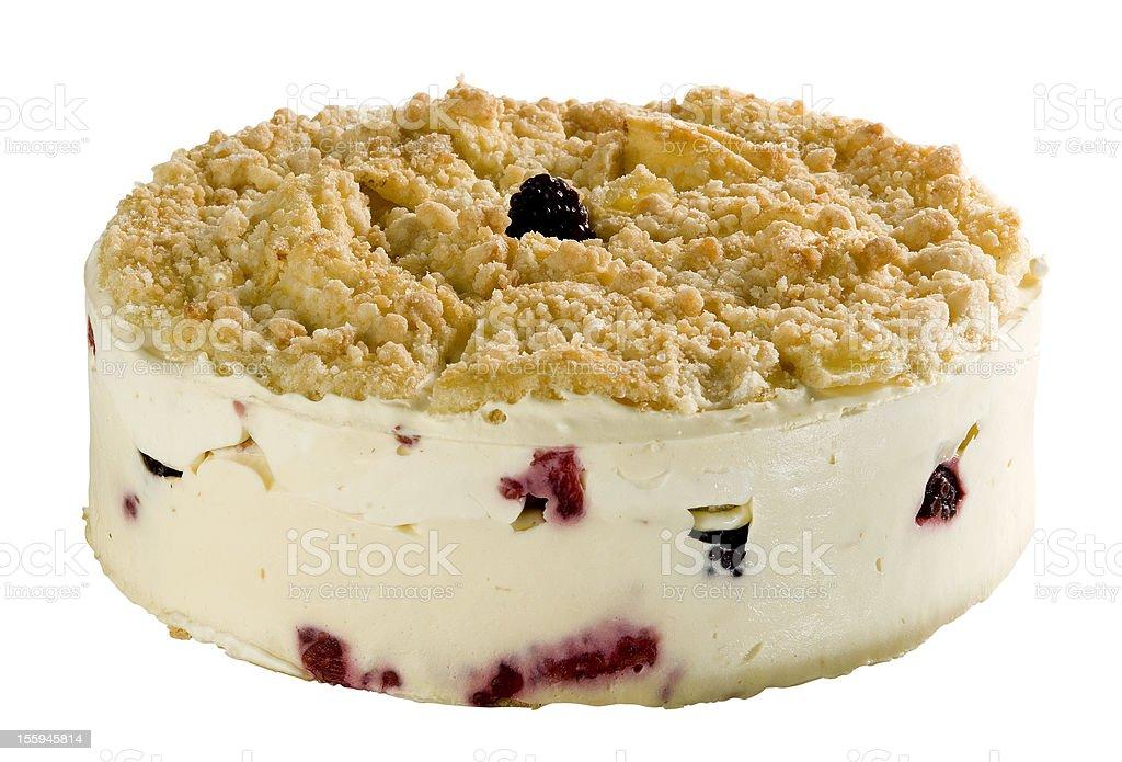 Crumb cake royalty-free stock photo