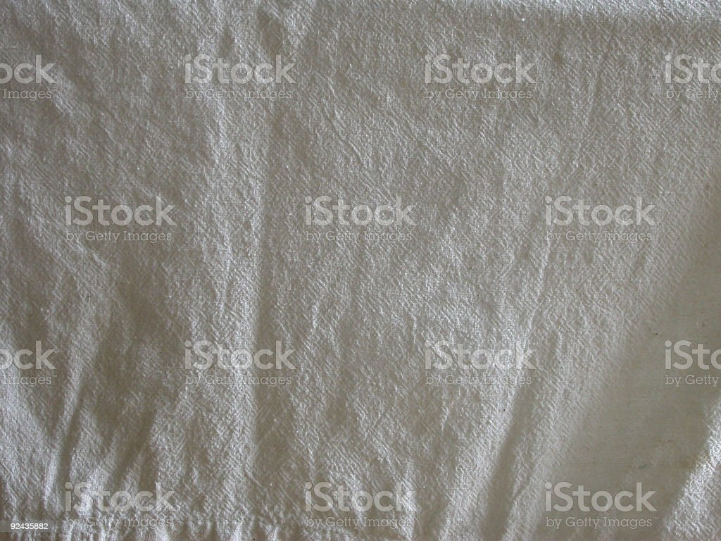 Crumbled Cotton Fabric 3 royalty-free stock photo