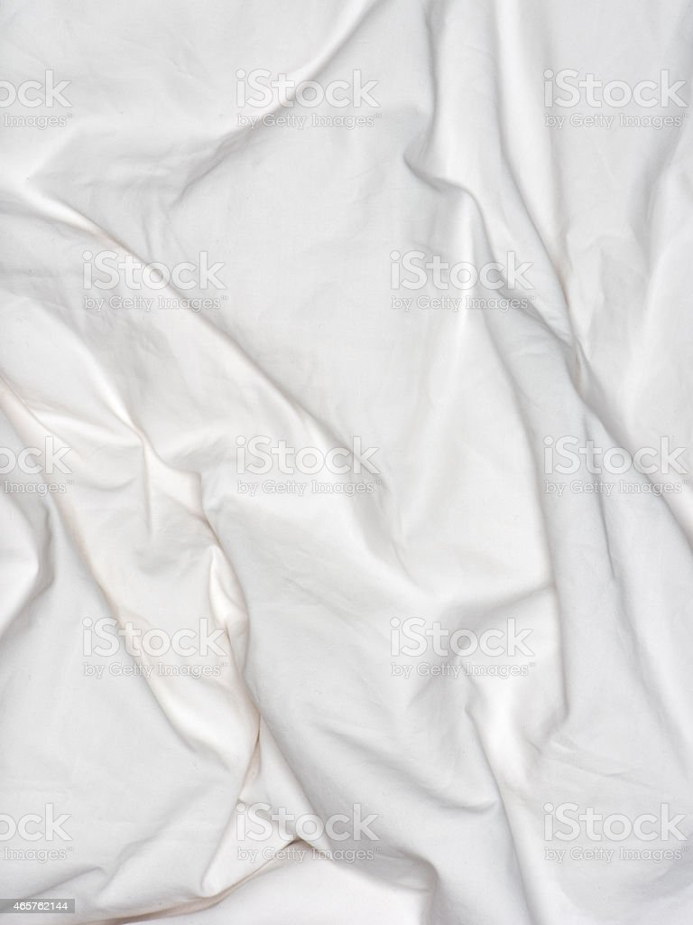 Rumpled bed sheet - Crumbled Messy Bed Sheets Royalty Free Stock Photo