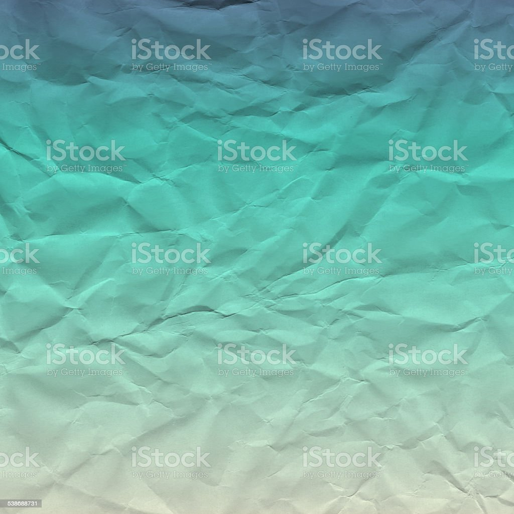 Crumbled Paper Ocean stock photo