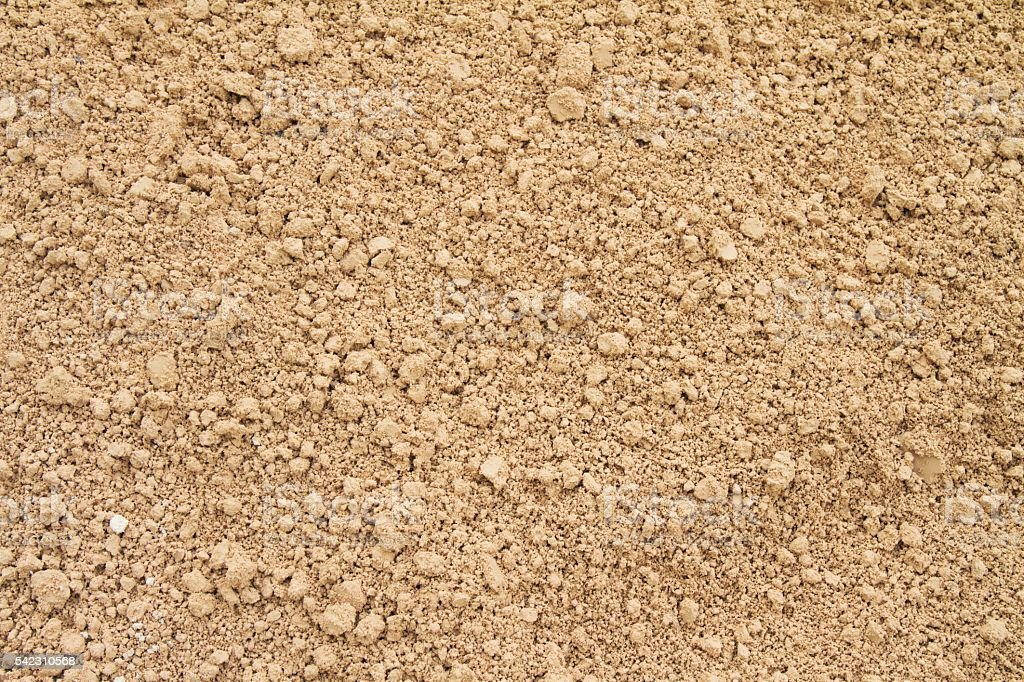 Crumbling clay dirt drought background stock photo