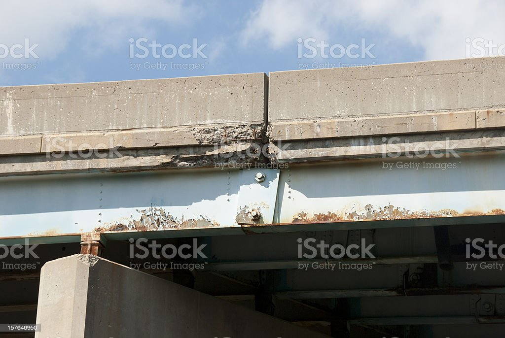 Crumbling Infrastructure royalty-free stock photo