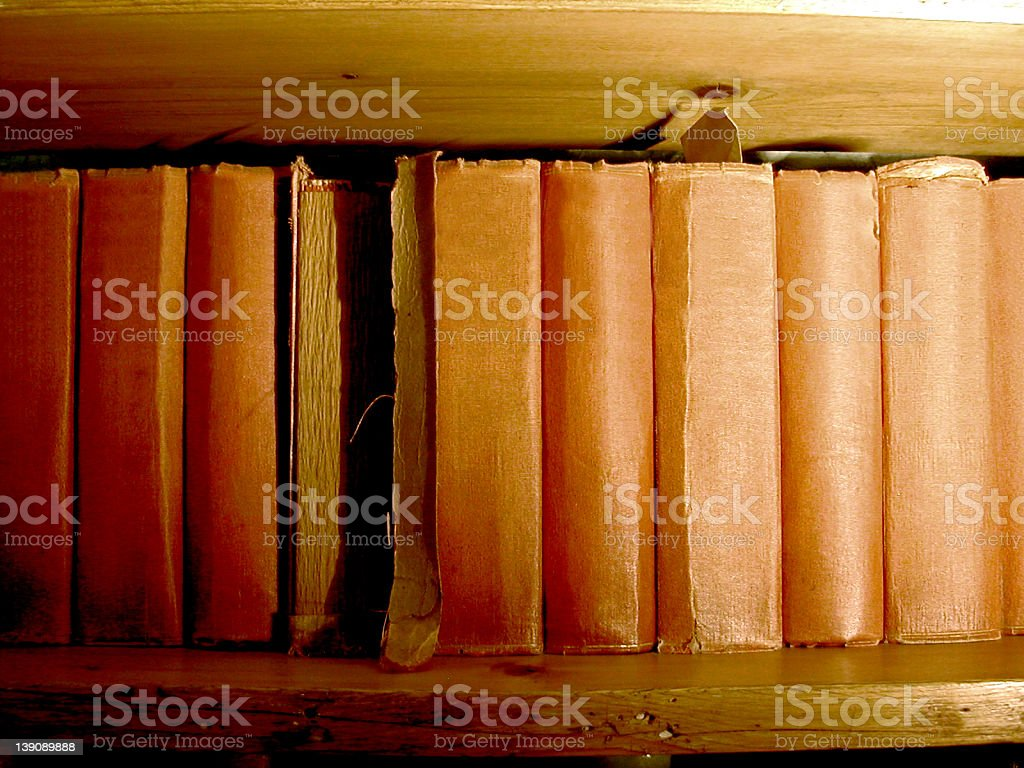 Crumbling Literature royalty-free stock photo