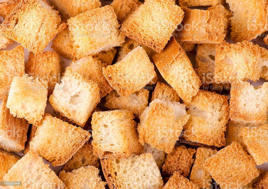 crumbs of wheat bread stock photo