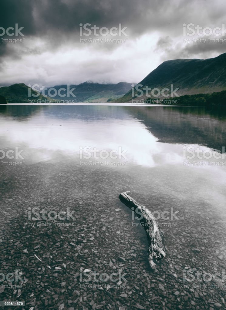 Crummock Water, English Lake District stock photo