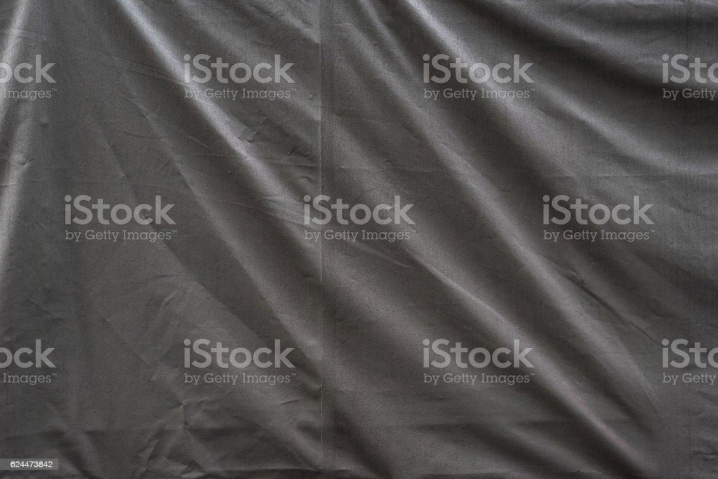 crumple fabric tarp background stock photo