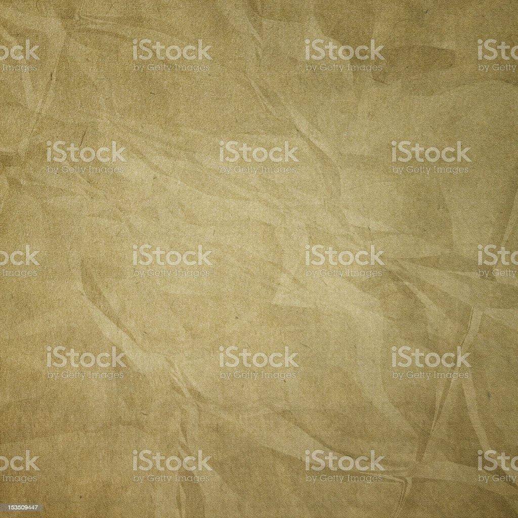 Crumpled canvas texture stock photo