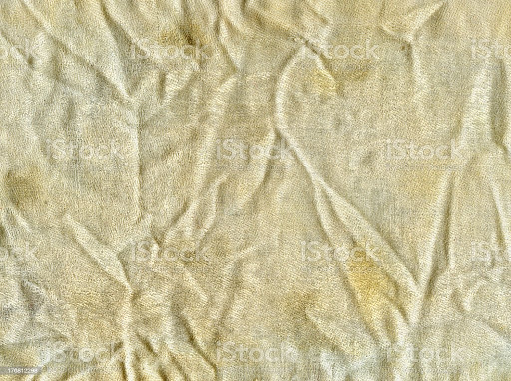 Crumpled fabric royalty-free stock photo