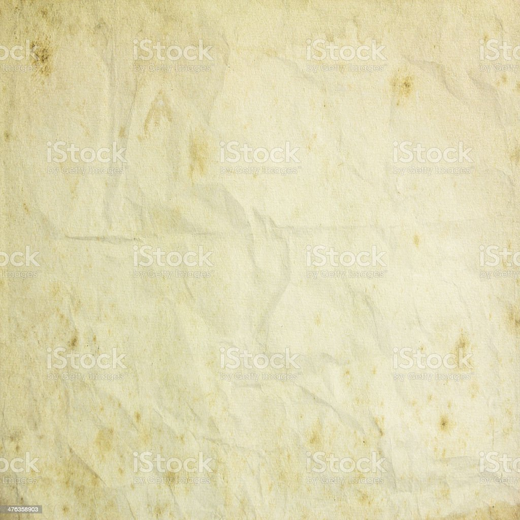 Crumpled grunge paper royalty-free stock photo