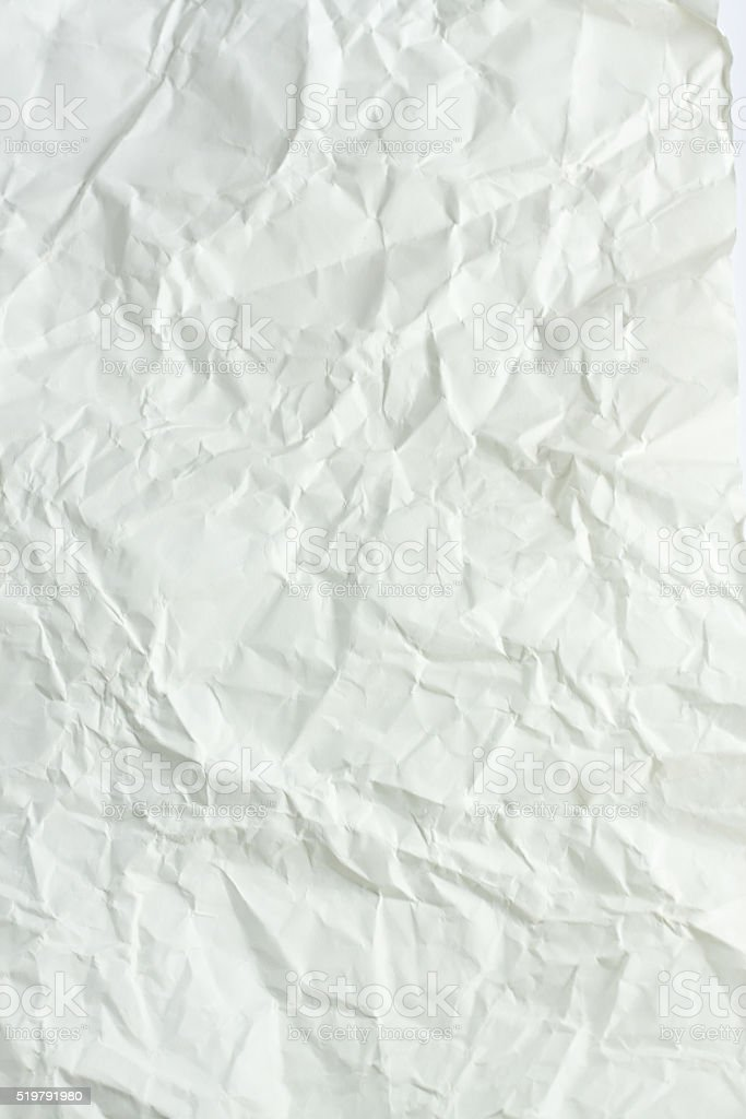 Crumpled paper art background stock photo