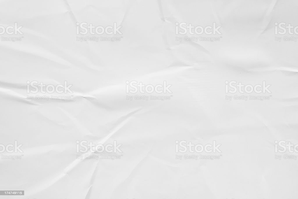Crumpled paper (XXXL 36MP) stock photo