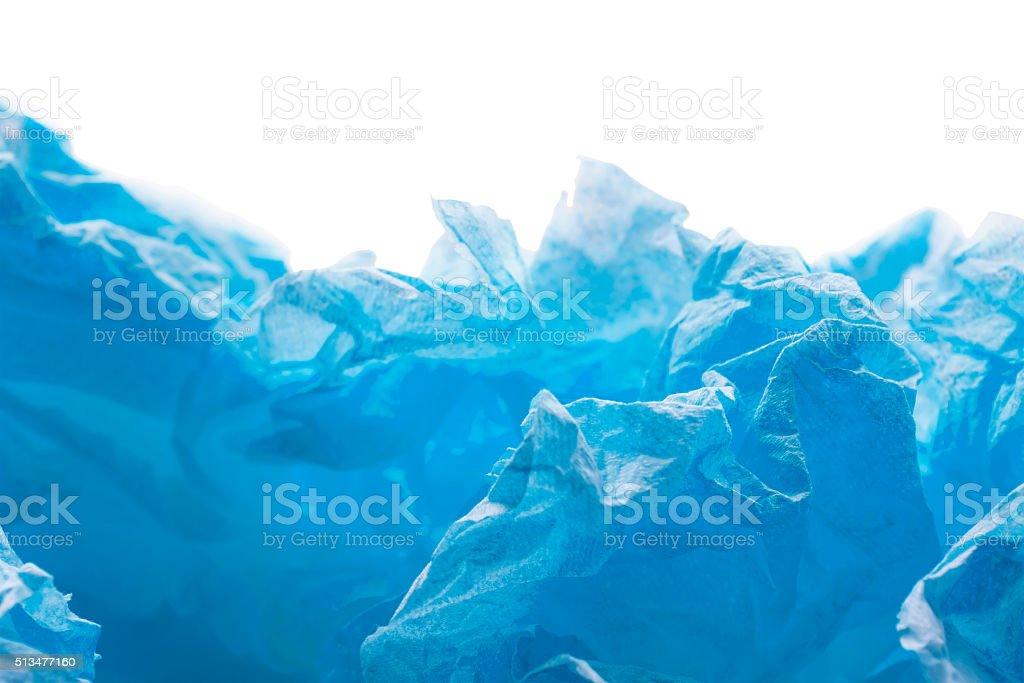 Crumpled paper stock photo
