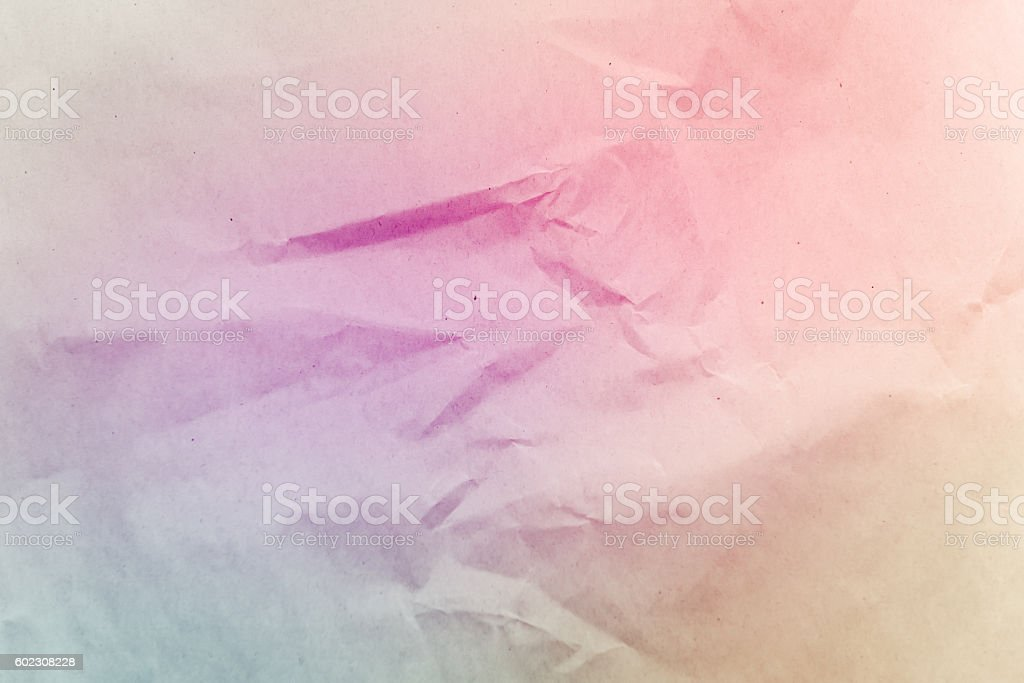 Crumpled paper texture background, creased paper stock photo
